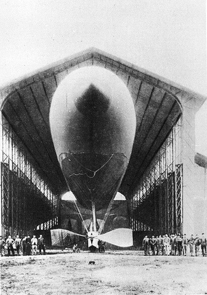 French Airship, 'La France'