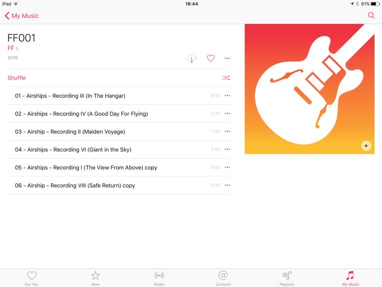Airship album tracklist