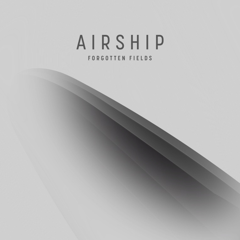 The official cover art for the Airship album by Forgotten Fields