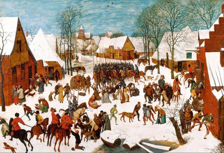 Massacre of the Innocents (c.1565-67) by Pieter Brueghel the Elder (c. 1525-1569)