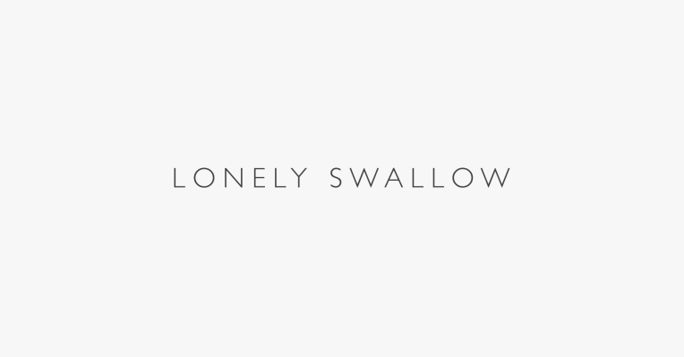 Lonely Swallow Logo
