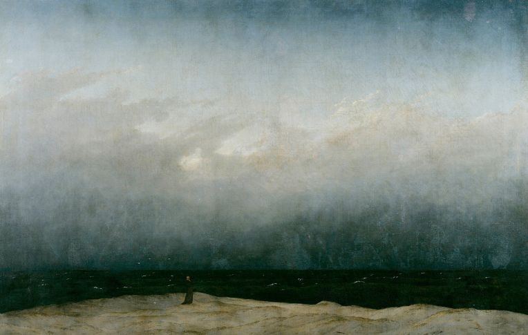 Der Mönch am Meer (The Monk by the Sea) (1808–10) by Caspar David Friedrich