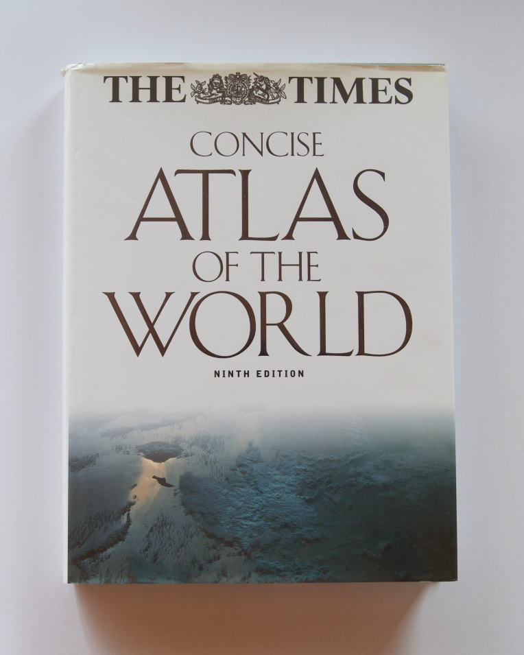 The Times Concise Atlas of the World: Ninth Edition, 26 July 2020. Copyright 2020 Forgotten Fields. All rights reserved.