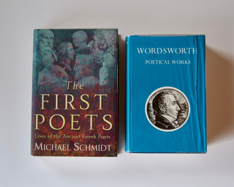 The First Poets: Lives of the Ancient Greek Poets and Wordsworth: Poetical Works, 26 July 2020. Copyright 2020 Forgotten Fields. All rights reserved.