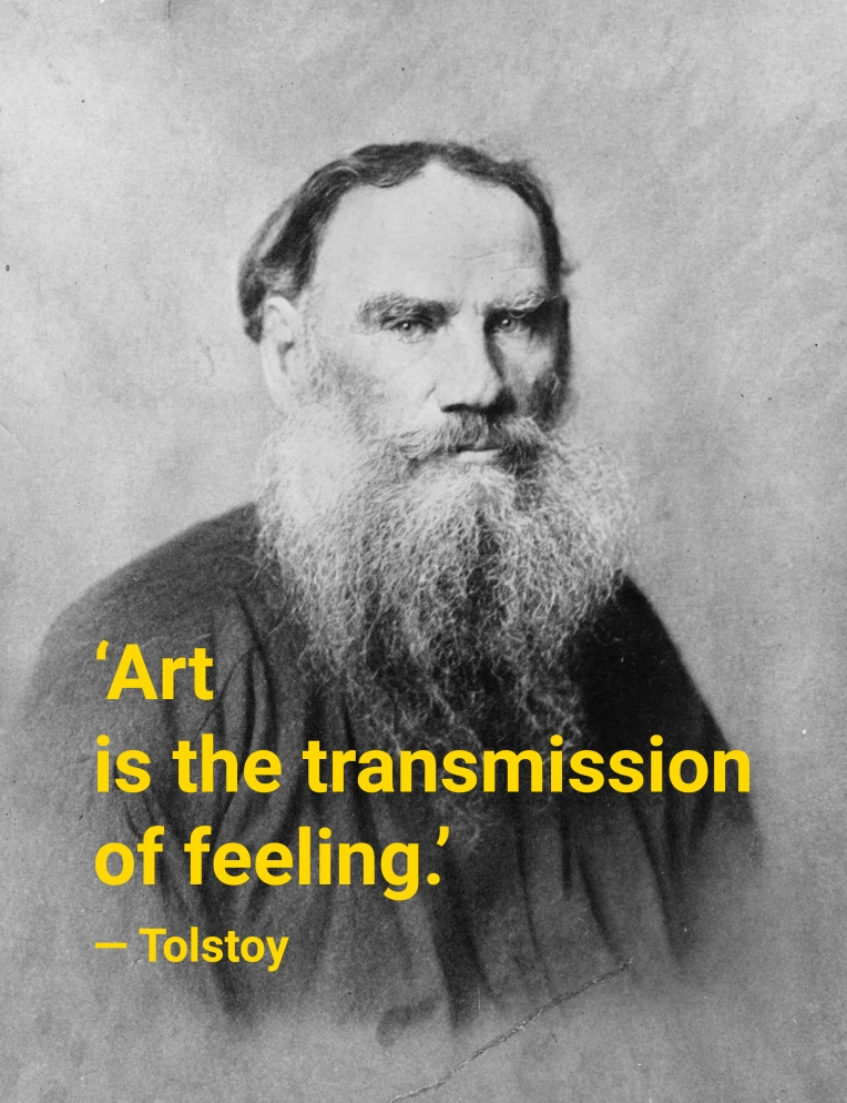 Portrait of Leo Tolstoy by unknown photographer. Public domain.